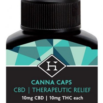 CBD Hash Caps 20mg - 2 pack - Pill - Hashman Infused