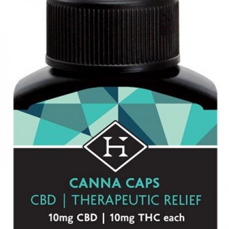 CBD Hash Caps 20mg - 2 pack