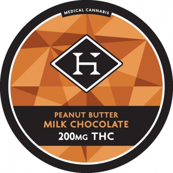 Old Fashion Peanut Butter Chocolate Bar - 200mg - Chocolate - Hashman Infused